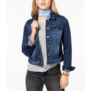 Maison Jules Denmi Jacket blue wash $70